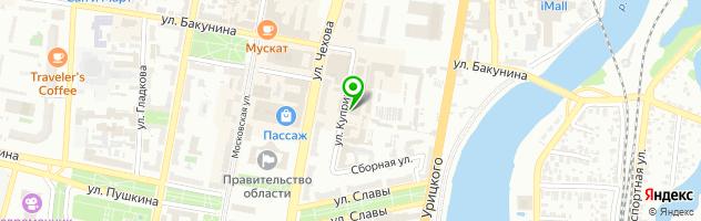 Фотосалон — схема проезда на карте