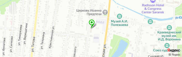 Тыква Праздничная площадка — схема проезда на карте