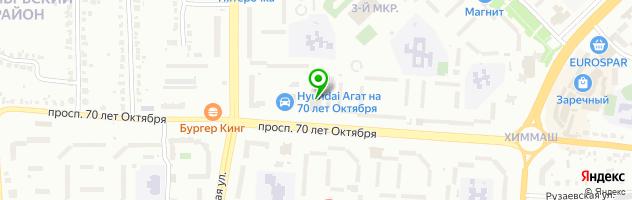 Студия пирсинга «Piercing Luxury»Саранск — схема проезда на карте