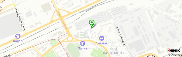 Студия автосвета Ксенон64 (тюнинг фар в Саратове) — схема проезда на карте
