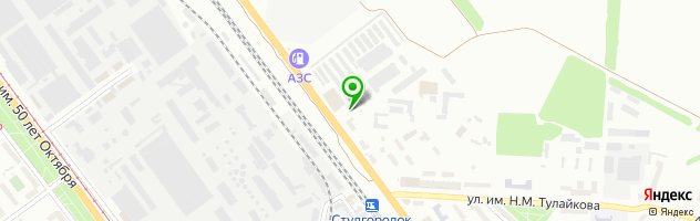 Автоцентр BMW — схема проезда на карте