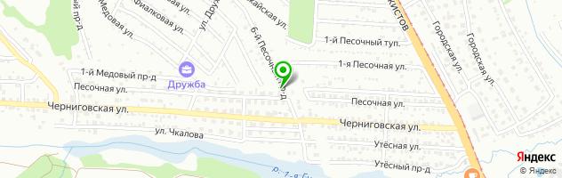 Автозапчасти TrinDrin.ru — схема проезда на карте
