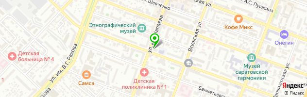 Многопрофильный медицинский центр Стандарт — схема проезда на карте