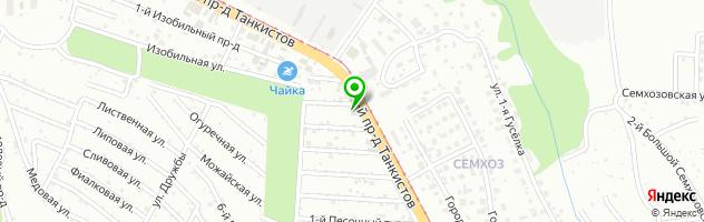 Детейлинг центр Автовакуум — схема проезда на карте