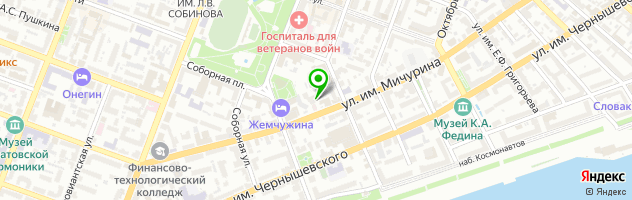 Многопрофильный медицинский центр Selena — схема проезда на карте