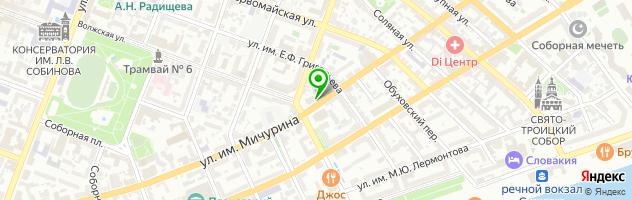Караоке-бар Al Capone — схема проезда на карте