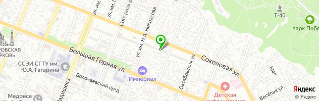 Автоателье Samara Style — схема проезда на карте