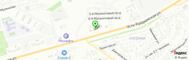 Автокомплекс Мир механика — схема проезда на карте