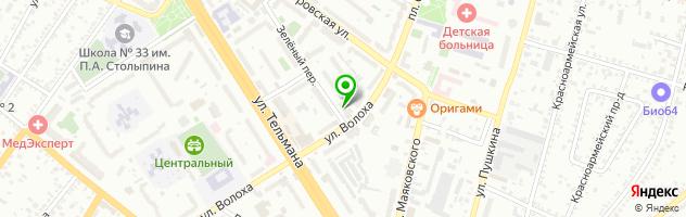 Рекламное агентство АРТ ПРИНТ — схема проезда на карте