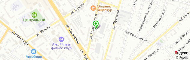 Рекламно-полиграфическое агентство Формат-Сити — схема проезда на карте