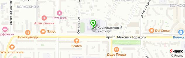"""Автошкола """"Трансойлсервис"""" — схема проезда на карте"""