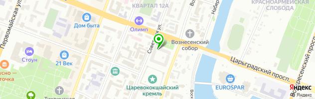 Автомагазин МОТОР — схема проезда на карте