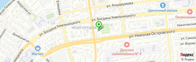 Сервисный центр GSM-Мастер — схема проезда на карте