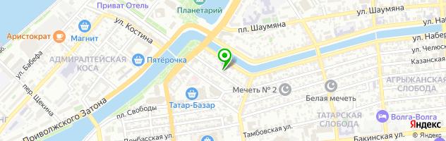 Торгово-сервисный центр Hi-tech — схема проезда на карте