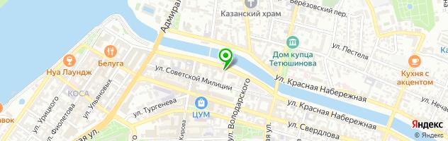 Торгово-сервисный центр Астрахань Printer-Servis — схема проезда на карте