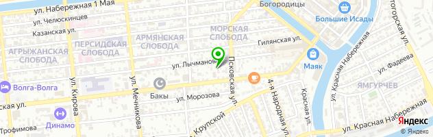 Медицинский центр Ориго — схема проезда на карте