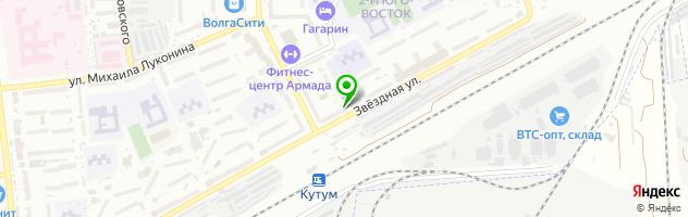 Торгово-сервисный центр ОК`Сервис — схема проезда на карте