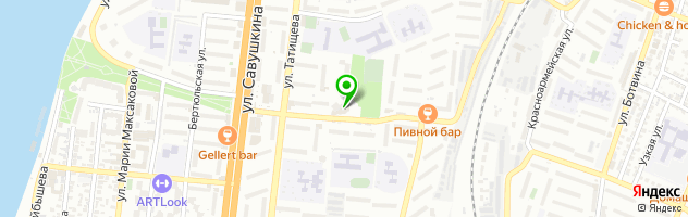 Клиника Доктора Нестерова — схема проезда на карте