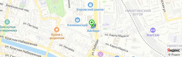 Сервисный центр РемЛайн — схема проезда на карте
