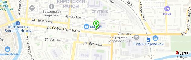 Центр коррекции зрения MEGAОПТИКА — схема проезда на карте