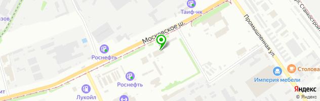 Автотехцентр Кит-Авто — схема проезда на карте