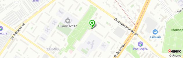 Стоматологическая поликлиника №4 — схема проезда на карте