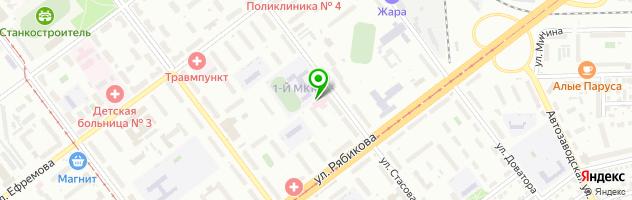 Медицинский центр Академия — схема проезда на карте