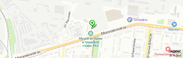 Закусочная Виктория — схема проезда на карте