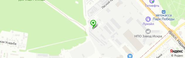 Автоцентр Мега-Моторс — схема проезда на карте