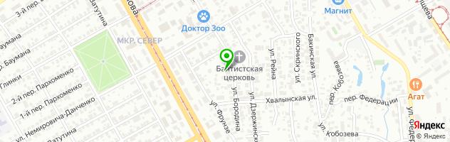 Гостиничный комплекс Василиса — схема проезда на карте