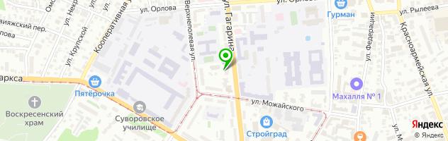 Стоматологическая клиника СтомаМед — схема проезда на карте