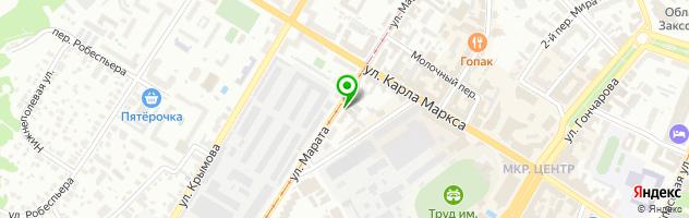Центр автоэкспертизы Автоправовед — схема проезда на карте