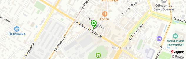 "Сервисный Центр ""MediaTEL"" — схема проезда на карте"