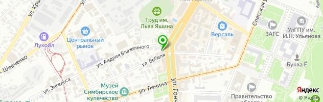 Сервисный центр MEDIA service — схема проезда на карте