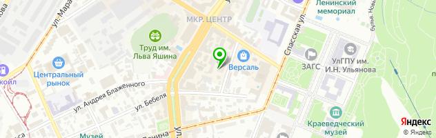 Салон красоты Эвиданс — схема проезда на карте
