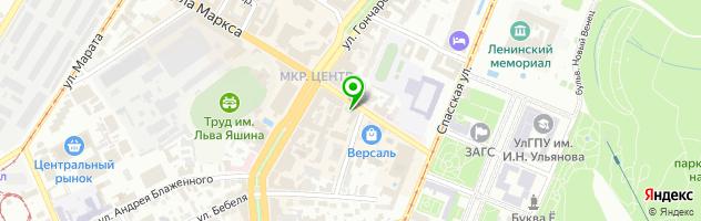 Coffee Bean — схема проезда на карте