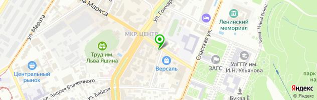 Ресторан Товарищ Сухофъ — схема проезда на карте
