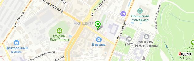 Кафе У Гашека — схема проезда на карте