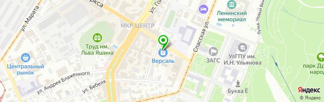 Тайм-кафе Speloe — схема проезда на карте