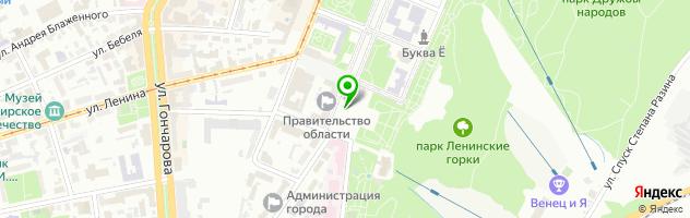 Ведущий, вокалист и организатор - Вадим Кочергин — схема проезда на карте