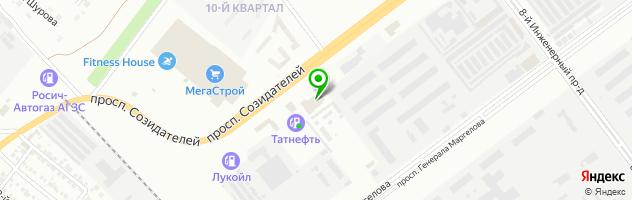 Автотехцентр Ангар 24 — схема проезда на карте