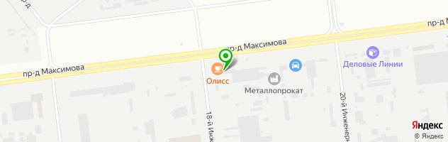 Многопрофильная компания Седак-Стеклотех — схема проезда на карте