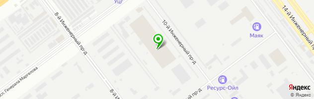 Автосервис Алтек — схема проезда на карте