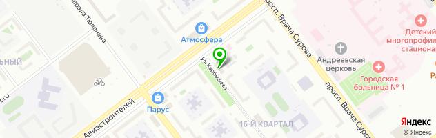 Центр медицины и косметологии БьютиМед — схема проезда на карте