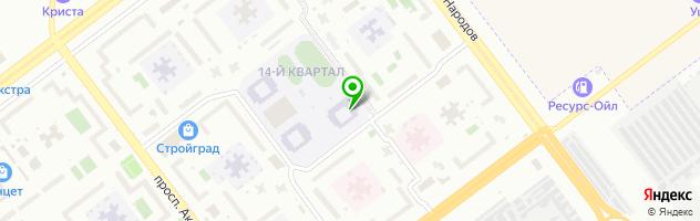 Автошкола Крылья — схема проезда на карте