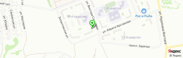 "Автошкола ООО ""Мотор"" — схема проезда на карте"