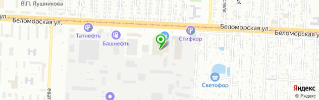 Делфо-авто — схема проезда на карте