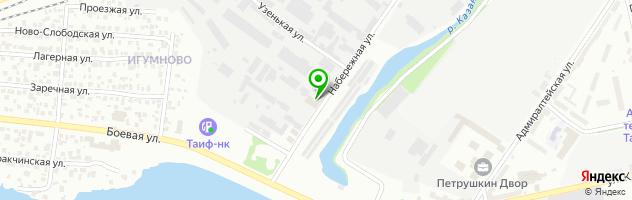 Рекламно-производственная фирма Аватар — схема проезда на карте