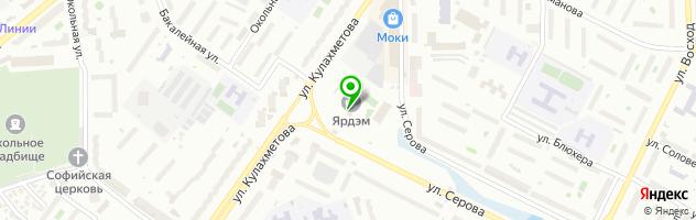Типография ЗурКазан — схема проезда на карте