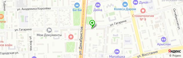 Прачечная самообслуживания Прачка ком — схема проезда на карте